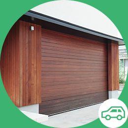 木造の車庫